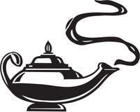Magic Lantern Illustration Stock Image