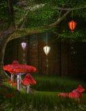 Magic lanterns Royalty Free Stock Image