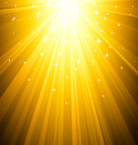 Magic light background Stock Images