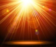 Magic light background Stock Images
