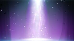 Magic light column loop stock footage