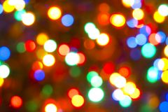 Magic Lights Royalty Free Stock Images