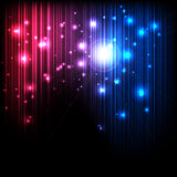 Magic Lights Royalty Free Stock Photography