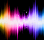 Magic lights with Colorful gradient Stock Photo