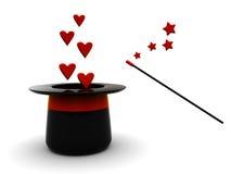 Magic love Stock Images
