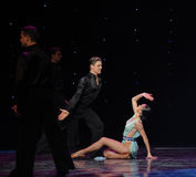 The magic of love-Flamingo dance-the Austria's world Dance Stock Photos