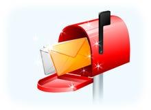 Magic mailbox Royalty Free Stock Photography