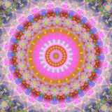 Magic mandala. Digitally created abstract suitable as background Royalty Free Stock Photo