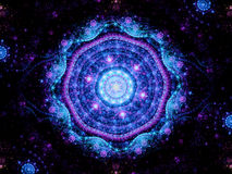 Magic mandala space object Stock Images