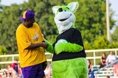 Magic and the Mascot. Stock Images