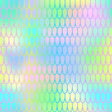 Magic mermaid tail background. Colorful seamless pattern with fish scale net. Vivid rainbow mermaid skin surface. Fish scale texture  pattern. Magic mermaid Stock Images