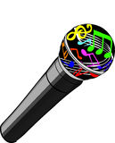 Magic Microphone Royalty Free Stock Images