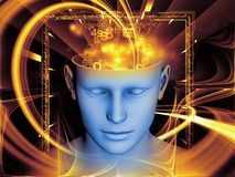 Magic of the Mind royalty free illustration