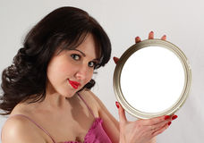 Magic mirror Stock Photos
