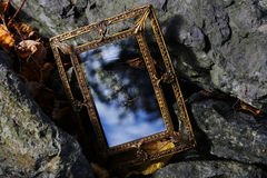 A magic mirror for dreams Royalty Free Stock Photography