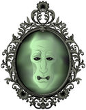 The Magic Mirror. On the wall stock illustration