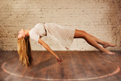 Free Magic Moment - Girl Levitates Stock Images - 59023834