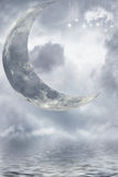 Magic moon Stock Photography