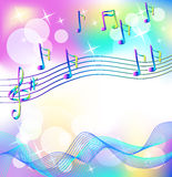 Magic music Stock Photography