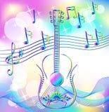 Magic music Royalty Free Stock Photos