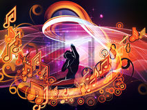 Magic of Music Stock Image