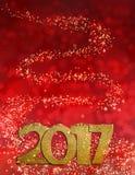 Magic new year 2017 Stock Photos