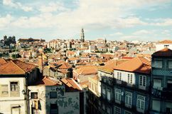 Oporto City of Portugal. Magic of Oporto City, old structure, vintage Stock Images