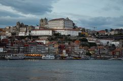 Oporto City of Portugal. Magic of Oporto City, old structure, vintage Royalty Free Stock Image