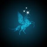 Magic Pegasus Royalty Free Stock Photo