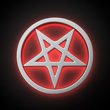Magic pentacle Royalty Free Stock Image