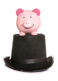 Magic piggybank Stock Photo