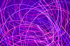 Magic pink lights Royalty Free Stock Image