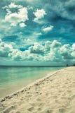 Magical paradise beach of the Caribbean sea Royalty Free Stock Image