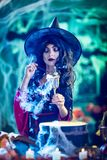 Magic Potion In The Goblet Royalty Free Stock Photography