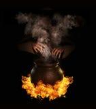 Magic potion royalty free illustration