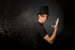 Magic Powder Royalty Free Stock Photo
