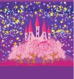 Magic princess Castle Stock Photos