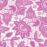 Magic purple lace seamless background Royalty Free Stock Photography