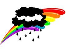 Magic rainbow Royalty Free Stock Photos