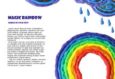 Magic rainbow Royalty Free Stock Photos