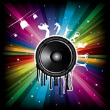 Magic Rainbow background Stock Images