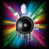Magic Rainbow  background Stock Photos