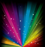 Magic Rainbow Light Stock Photo