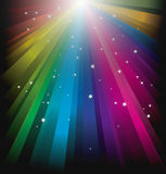 Magic Rainbow Light Stock Photography