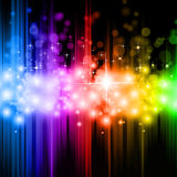 Magic Rainbow Lights Background Royalty Free Stock Image