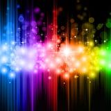 Magic Rainbow Lights Background Royalty Free Stock Image