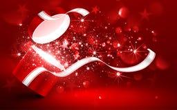 Magic red box Royalty Free Stock Photos