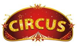 Magic red circus sign Royalty Free Stock Photos