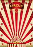 Magic red paradise circus Stock Photography