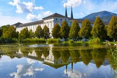 Free Magic Reflections Of Admont Abbey Stock Photos - 179697213